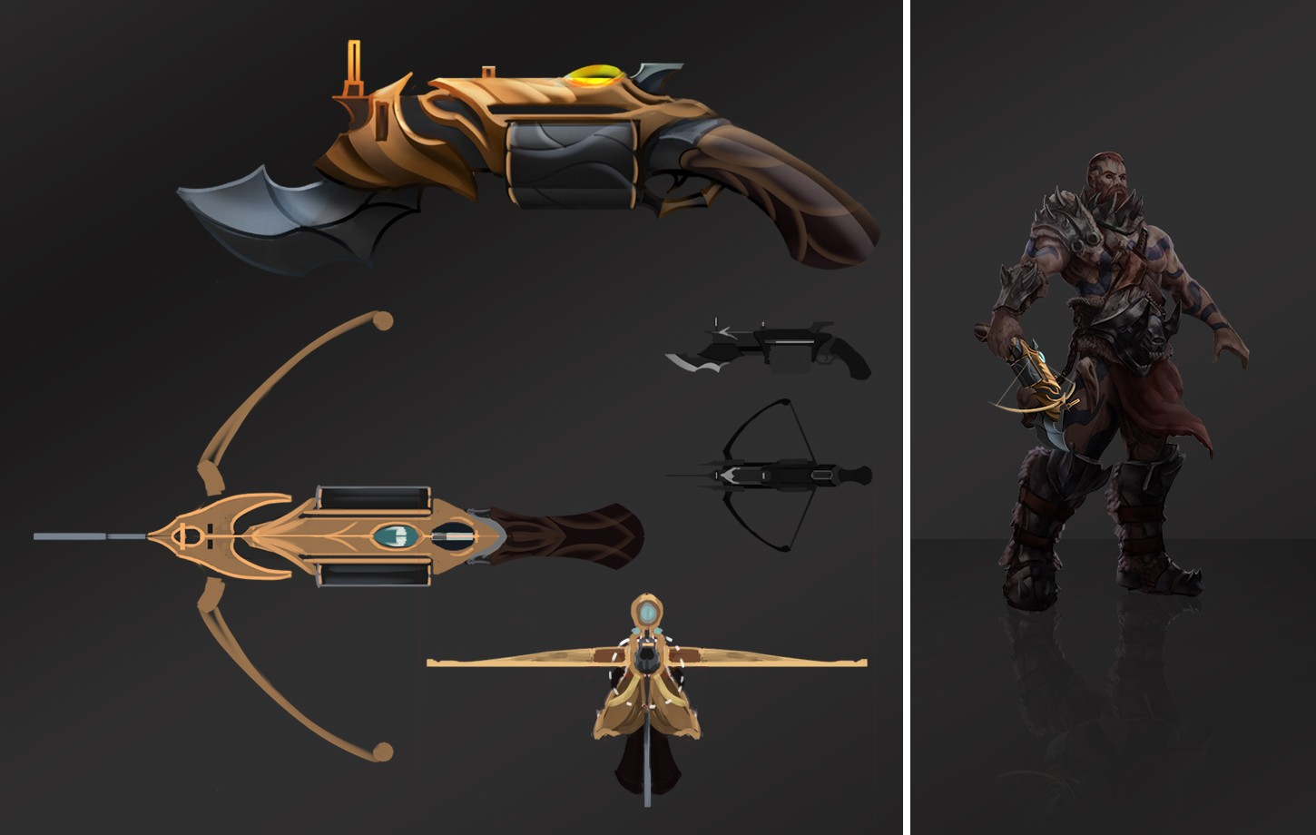 DABA - Weapons concept-arts