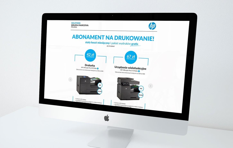 HP - Abonament na drukowanie