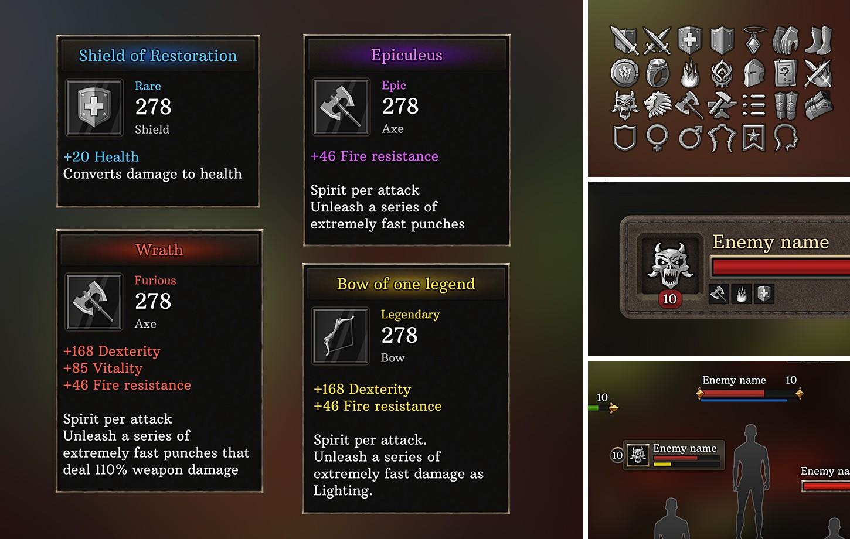 4K Full Fantasy GUI