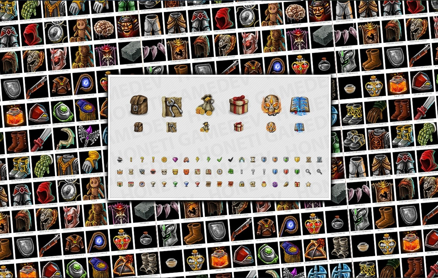 Icons for Darken Age game