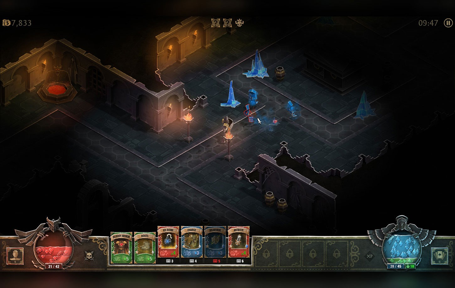 Environment for Book of Demons game