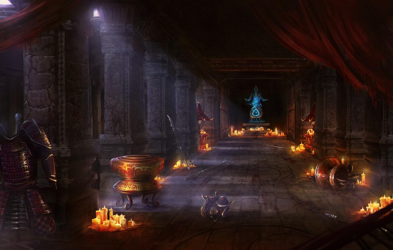 DABA - Concept Art lokacji Forgotten Temple