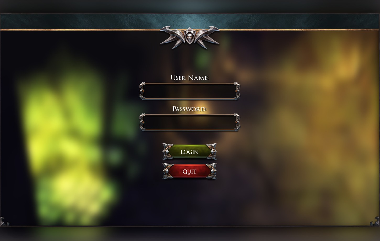 Dark Fantasy GUI