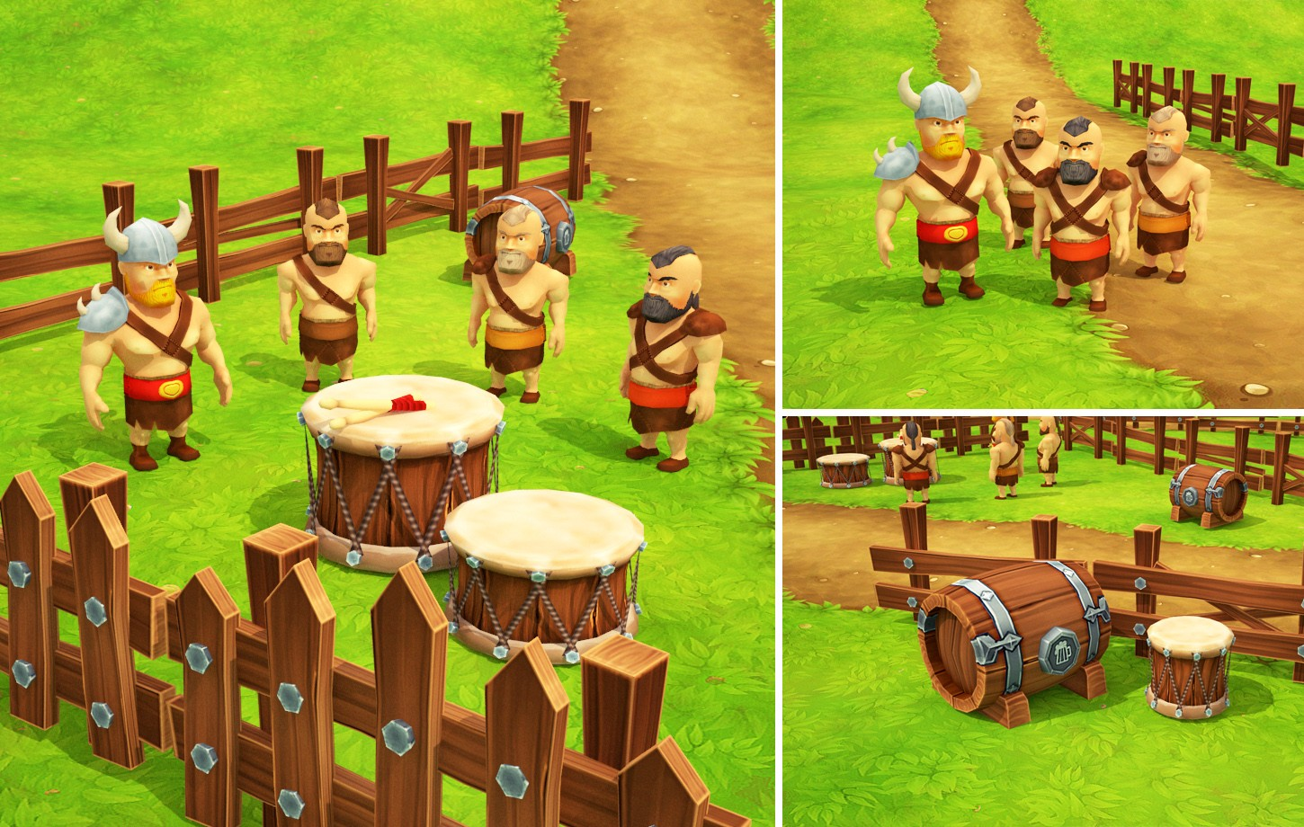 Viking Tune - 3D game assets and animations
