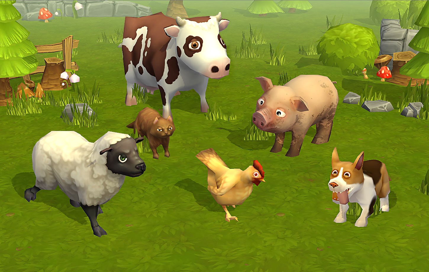 Animated Pets and Farm Animals Pack