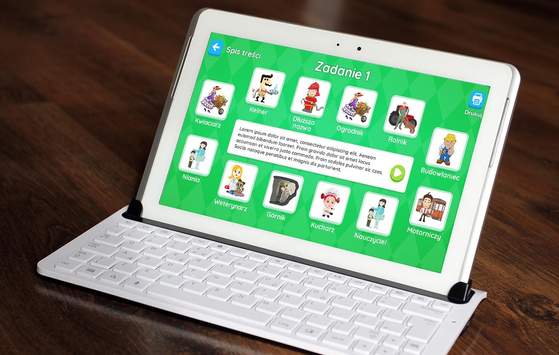 Oczami Dziecka - Aplikacja szkolna na systemy Windows
