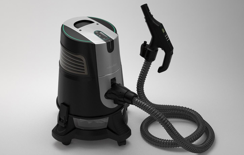 Visualization of Roboclean vacuum cleaner