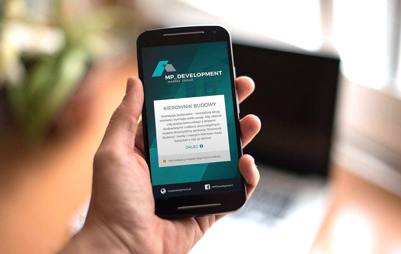 MP Development - aplikacja mobilna