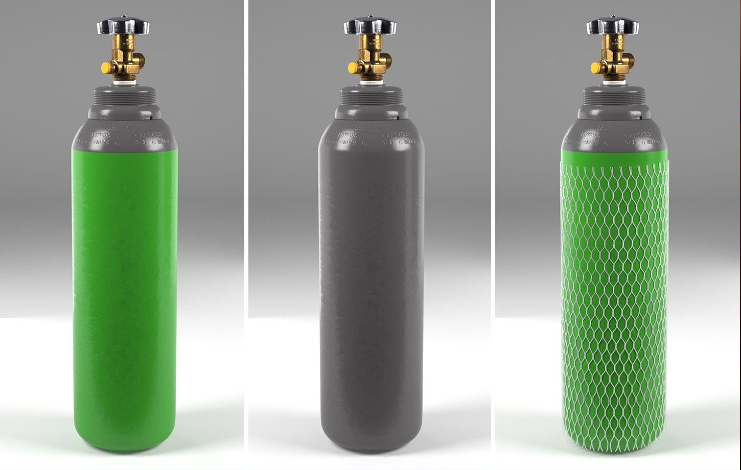 Metal bottle visualisation