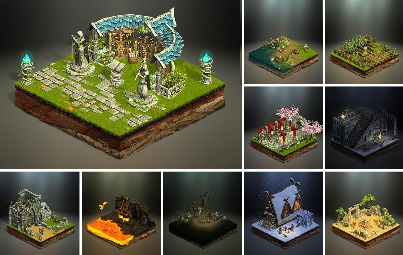 Fantasy Environments - Darken Age