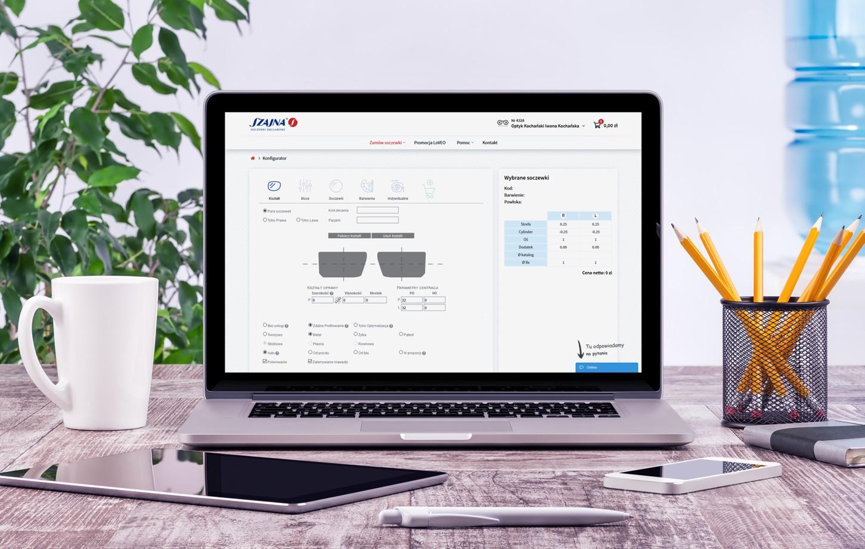 Szajna - aplikacja dla optyków