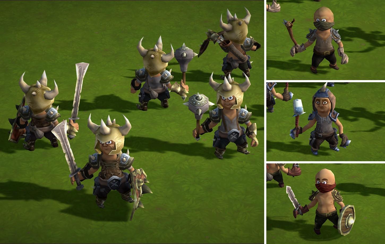 14M Animated Fantasy Bandits