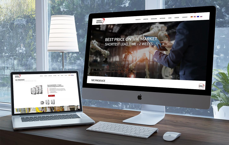 Swissrotors - strona firmowa