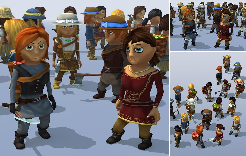 20k Female Characters