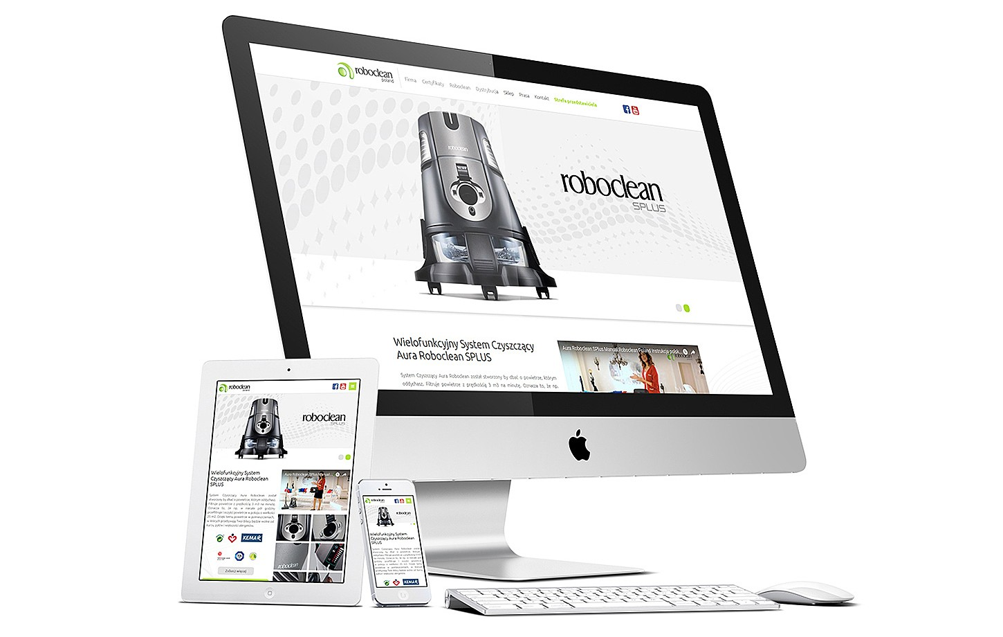 Roboclean Poland website