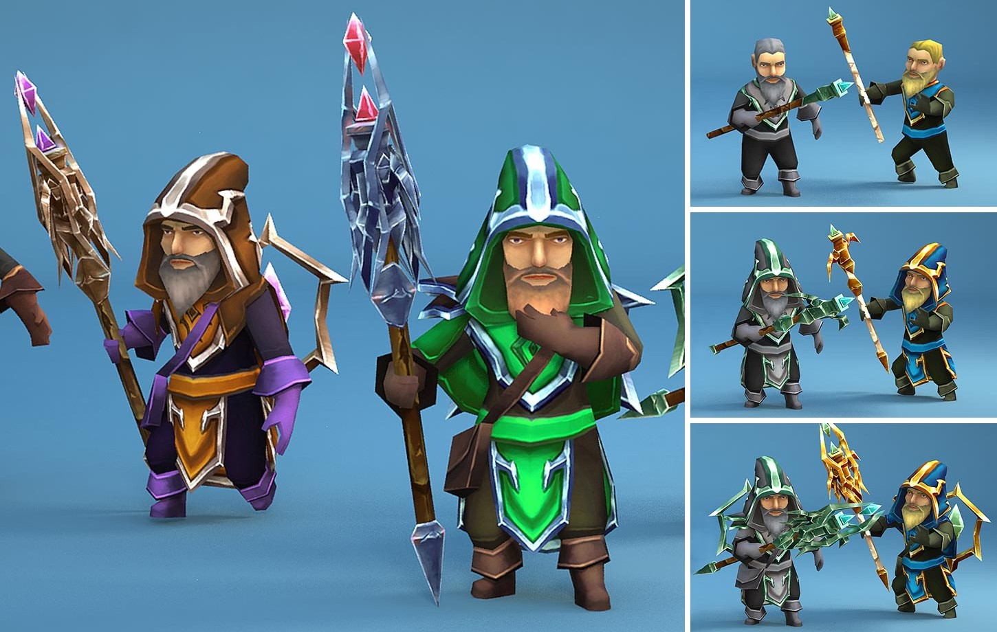 Animated Mage Heroes