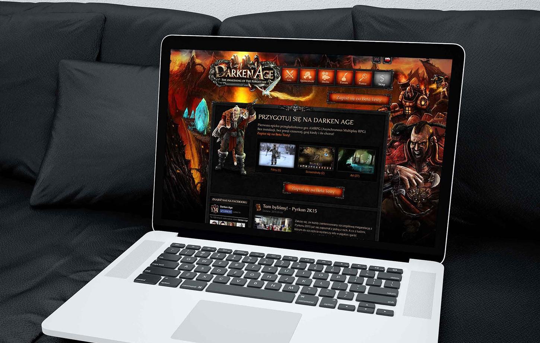 Darken Age website
