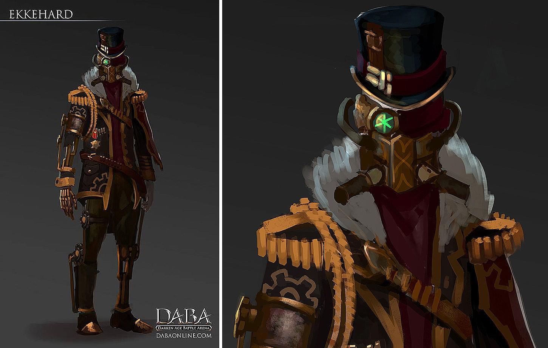 DABA - Character concept-arts