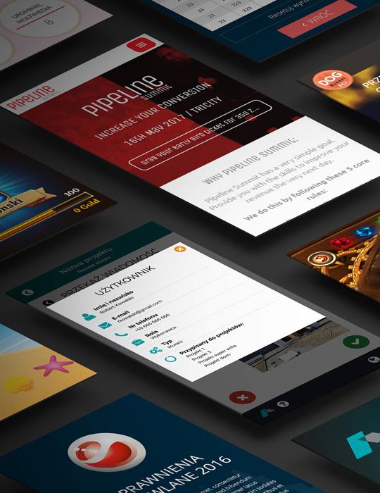 TWORZENIE APLIKACJI MOBILNYCH iOS i ANDROID